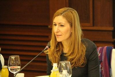 Николина Ангелкова на традиционната си годишна среща с чуждестранните посланици у нас.Снимки министерство на туризма