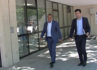 Министър Петков с кмета на Благоевград Илко Стоянов Снимка: Тони Маскръчка