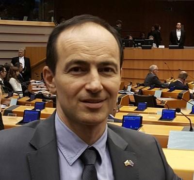 Евродепутатът Андрей Ковачев СНИМКА: Архив