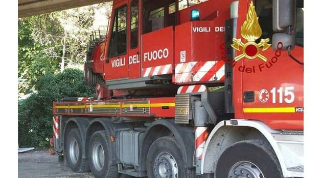 Двама българи ранени на виадукт до Торино, тирът им се преобърна