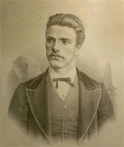 Георги Данчов рисува Левски по спомени - негово дело са както черно-бяла литография, така и живописен портрет. СНИМКИ: АРХИВ