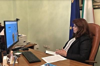 Вицепрезидентът Илияна Йотова СНИМКИ: Прессекретариата на държавния глава