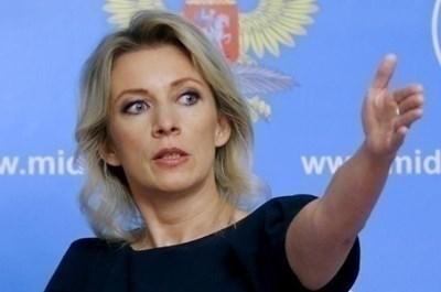 Говорителката на руското външно министерство Мария Захарова СНИМКА: Ройтерс