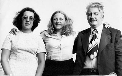 Христо Шарлопов, с Емона и дъщеря си Росица