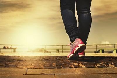 За добро здраве и жизненост човек трябва да прави поне десет хиляди крачки на ден СНИМКА: Pixabay