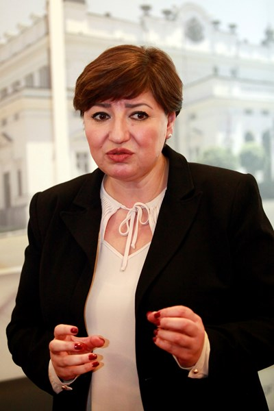 Анна Александрова - председател на правната комисия към Народното събрание СНИМКА: Велислав Николов