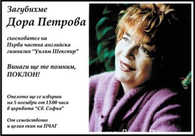 Дора Петрова