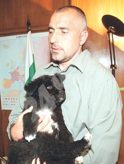 13.06.2002 г. Бойко Борисов на рождения си ден СНИМКА: 24 часа