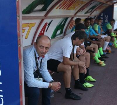 Илиан Илиев попиля ЦСКА със същите играчи, които паднаха 1:4 в Разград. СНИМКА: Николай Литов