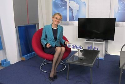 """Основател на учебното студио е бившата журналистка на """"24 часа"""" Ива Петрони. СНИМКА: Личен архив"""