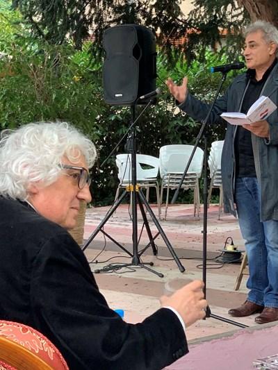 Георги Лозанов на представянето на книгата си
