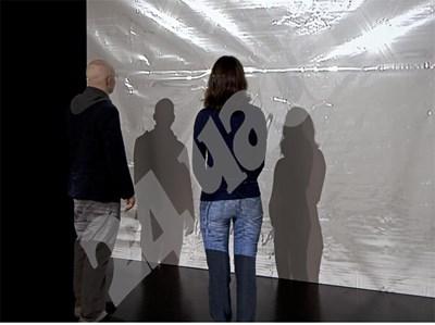 Част от инсталацията, която немския медиен артист Миша Кубал показва в Музея на съвременното изкуство. СНИМКА: 24 часа