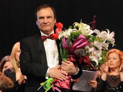 Борис Годжунов на последния си концерт в НДК през 2009 г.