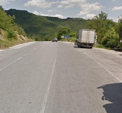 Пътят Сливен - Горна Оряховица СНИМКА: Google Street View