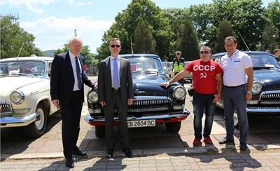 Сергей Николашин е бил гост на парада на съветските и руски автомобили в Драгоман.