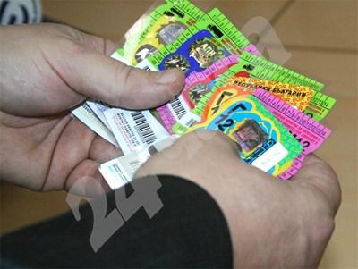 От началото на 2013 г. винетките ще се разпространяват от нов дистрибутор. СНИМКА: 24 часа