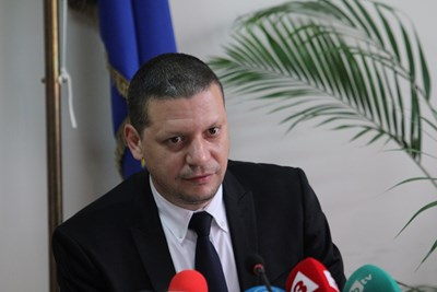 The District Governor of Sofia Ilian Todorov Photo & # 39; s: Blagoy Korilov
