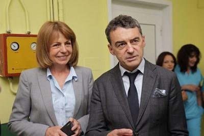 Световноизвестният кардиолог проф. Иво Петров влиза в тима на кмета Йорданка Фандъкова. СНИМКА: Гео Калев