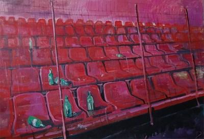 Една от картините на Ангеларий Димитров, включена в изложбата