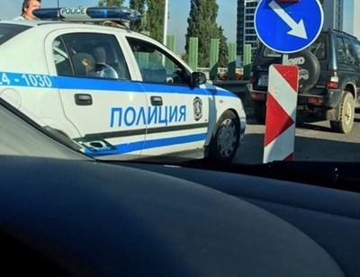 """Двама мъже от Велики Преслав оказват съпротива при полицейска проверка. СНИМКА: Архив на """"24 часа"""""""