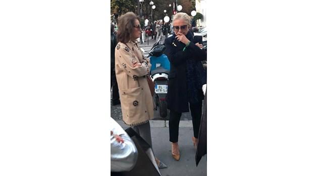 И ти да видиш що бабички се изсипаха на парти на Dior. Бабички им викаме ние, а те са мадам до мадам!