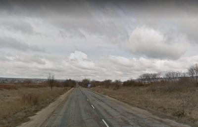 Пътят Гецово - Разград СНИМКА: Google Street View