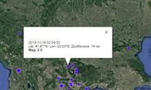 Земетресение разлюля Благоевград