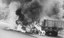 Георги Аспарухов изгорял, стискайки волана на алфата