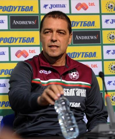 Петър Хубчев като национален селекционер