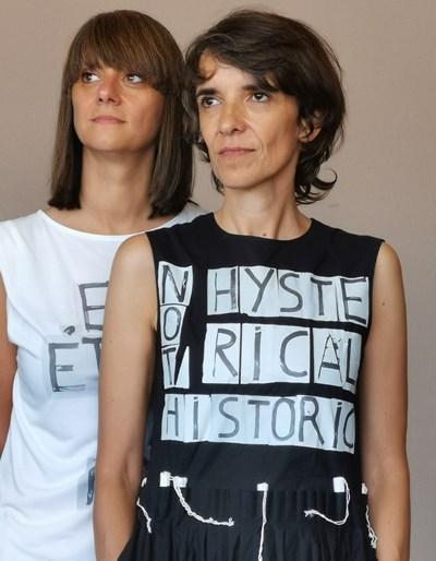 Весела (вляво) и Мина СНИМКА: Личен архив