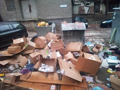 Боклуците са превърнали мястото в сметище. Снимка: Архив