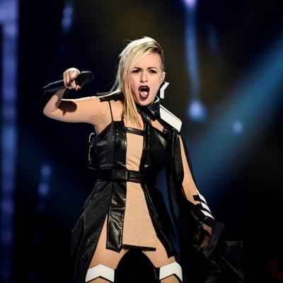 Поли Генова на финала  на Евровизия