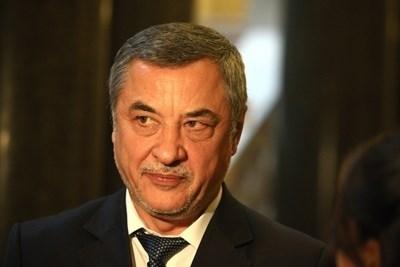 Лидерът на НФСБ Валери Симеонов.