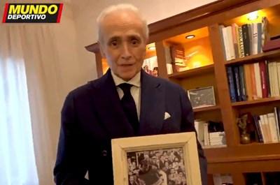 """Хосе Карерас. Кадър """"Мундо Депортиво"""""""
