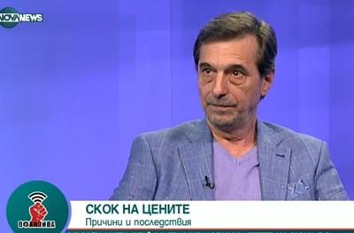Димитър Манолов. Кадър NOVANEWS