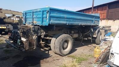 Камионът, задигнат от Кючека и групата му