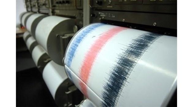 Земетресение с магнитуд 5 разлюля Гърция
