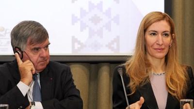 Министърът на туризма Николина Ангелкова и председателят на Европейската спа асоциация Тиери Дюбоа откриха шестия конгрес на Българския съюз по балнеология и спа туризъм.