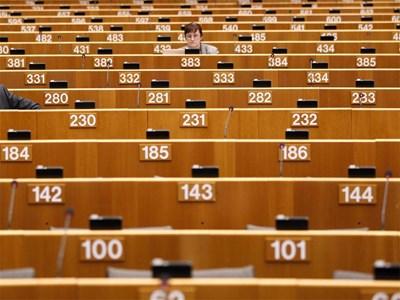 Залата на Европейския парламент Снимка Ройтерс