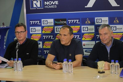 """Васил Божков обеща да прехвърли акциите на """"Левски"""" на Наско Сираков, но някои се усъмниха в искренността му."""