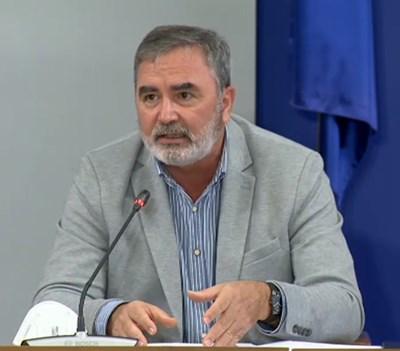 Главният държавен здравен инспектор доц. Ангел Кунчев