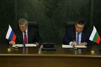 Юрий Чайка и Сотир Цацаров подписаха програма за сътрудничество за периода 2018-2019 г.