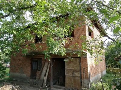 Къщата, в която Трайчо се барикадирал. СНИМКА: Десислава Кулелиева