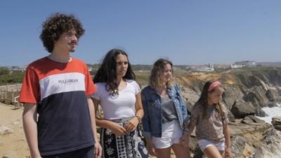 Четирима от португалските младежи, които съдят 33 държави за климата. СНИМКА: YOUTH4CLIMATEJUSTICE