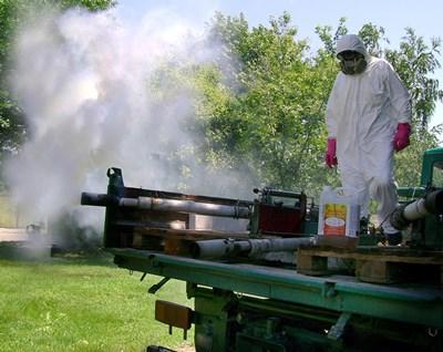 Пръскането срещу комари вече започна
