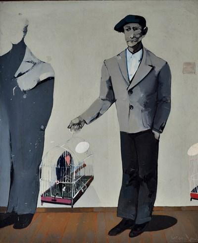 Платната на големия Стоян Цанев ще бъдат наредени в градската галерия в Бургас.