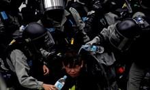 Пореден антиправителствен протест в Хонконг
