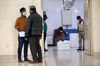 Картина от болница в Индия СНИМКА: Ройтерс