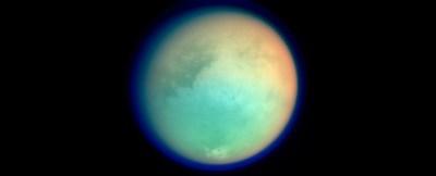 Снимка на Титан през 2004 г. Източник: НАСА