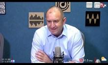 Радев: Ако зависи от мен, Пеевски и Доган няма да имат охрана от НСО